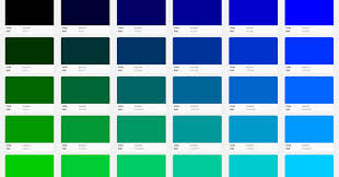 color codes skyfall blue marketing building with web colors codes tools