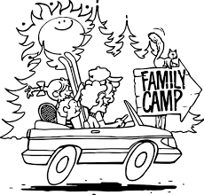 family camp coloring page wecoloringpage