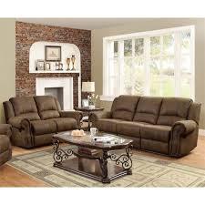 quinn recliner sofa set in bomber jacket microfiber