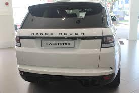 range rover white 2016 range rover sport svr 2016 white weststar motors