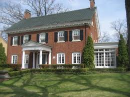 1920s colonial house style house and home design