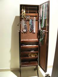 Jewelry Full Length Mirror Armoire Full Length Mirror Jewelry Box Furniture Floor Mirror With