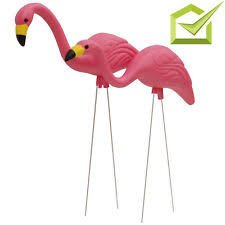 flamingo metal statues lawn ornaments ebay