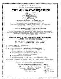 preschool registration currently open to new brunswick families