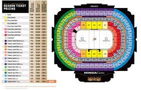 Nhl Map Ducks Season Tickets Seating Map And Pricing Anaheim Ducks