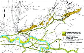 New Orleans Flood Zone Map by Geologic Conditions Underlying The 2005 17th Street Canal Levee