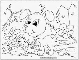 17 puppy color pages cute dog coloring pages free printable