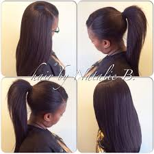 perfect pony sew in hair weaves by natalie b 708 675 9351 ig