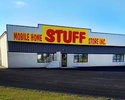 mobile home stuff store homepage