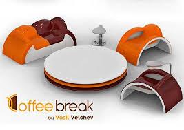 coffee furniture set from vasil velchev tableware inspired