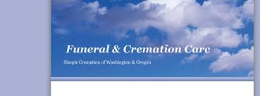 simple cremation funeral cremation care home washington state wa
