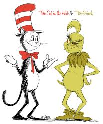 Dr Seuss Memes - dr seuss the cat in the hat and the grinch by area32 on deviantart