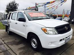 toyota car sales melbourne used 2008 toyota hilux workmate tgn16r 07 upgrade dual cab p up