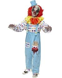 spirit halloween 2016 props scary clown costumes wriggly mortie child costume halloween