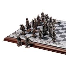 mystical legends chess set u003cbr u003e pieces and board cl92657