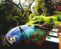 small backyard landscaping ideas with above ground pool furniture