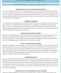 Resume Skills And Abilities Sample by Luxury Design Skills And Abilities On Resume 5 Ksas Sample Cv