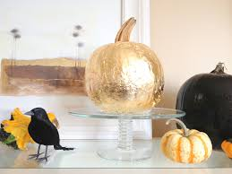 decorating for fall home decor fall pumpkins candles gold pumpkin 1