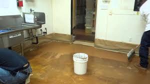 Commercial Kitchen Flooring Options Semco Case Study Commercial Kitchen Remodel Floors V2 Youtube