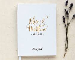 wedding book guest book ideas curated by wedding forward on etsy