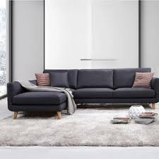 cool sectional sofas modern sofa chaise sectionals allmodern