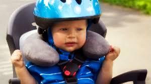 siege velo bébé cou de bébé protégé même à vélo cocon pour bébé