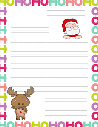 snowman writing paper printable 20 letters to santa and printable envelopes christmas wishes reindeer ruled writing paper