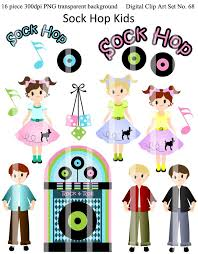50s sock hop coloring pages clip art library