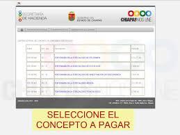 Formato De Pago De Tenencia En Chispas 2015 | pago de derecho secretaría de hacienda chiapas youtube