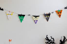 halloween flags halloween bunting flags we u0027re going to make it