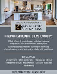 remodeling experts zbranek and holt custom homes