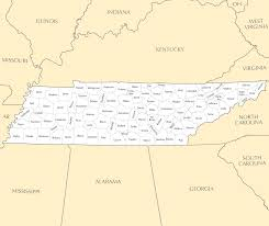Tennessee Map Of Counties by Tennessee County Map U2022 Mapsof Net