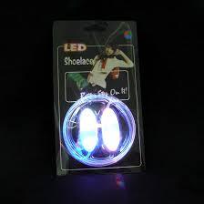 led shoelaces fiber optic show laces