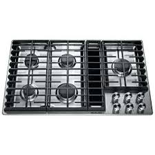 Jenn Air 36 Gas Cooktop Kitchen The Erv3615 Downdraft Ventilation Jenn Air Gas Range Slide