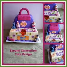 second generation cake design cakes doc mcstuffins pinterest