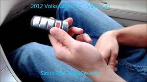 2012 volkswagen cc valet key youtube