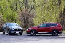 mazda5 vs honda crv 2017 mazda cx 5 vs 2017 honda cr v comparison test autoguide com