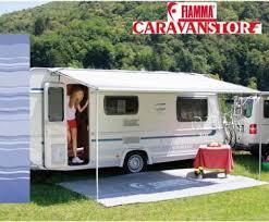 Caravan Awnings For Sale Ebay Fiamma Caravanstore 225 Royal Blue Caravan Awning Canopy Ebay