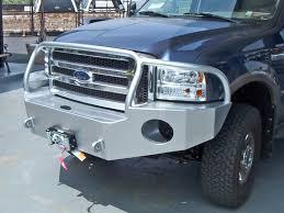 ford truck winch bumper 2005 2007 aluminess