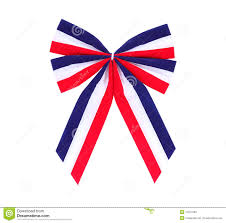 white and blue bows white and blue bow stock image image of flag blue 14375599