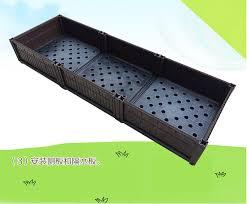 Balcony Planter Box by Changeable Magical Planter 150x50x25cm Plastic Flower Pots Balcony