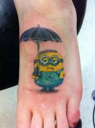 batman minion tattoo minion tattoos askideas com