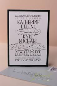 new years wedding invitations kathryn kyle new years wedding invitations gourmet