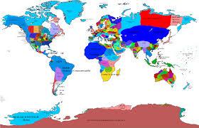 Alaska World Map by Vicendum World Map Updated 3 By Danielg342 On Deviantart