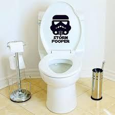 Yoyo Bidet Toilet Seat Aliexpress Com Buy Yoyoyu Toilet Decals Star Wars Inspired Storm