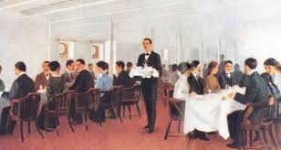 Titanic First Class Dining Room Titanic History Facts And Stories Titanic Belfast