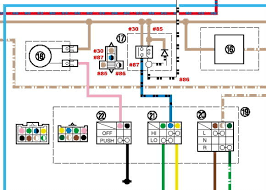 01 yamaha warrior 350 wiring diagram yamaha wolverine wiring