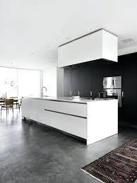 tapis de sol cuisine tapis sol cuisine 1 cuisine contemporaine grise avec sol en bacton