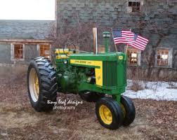 Tractor Barn Old John Deere Etsy