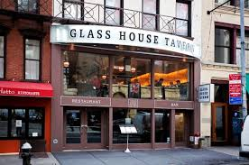 restaurant exterior design glass house tavern manhattan time